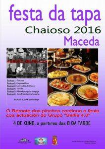 Festa da Tapa Chaioso 2016