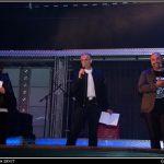 Emiliano, Isa y Deimi, presentadores