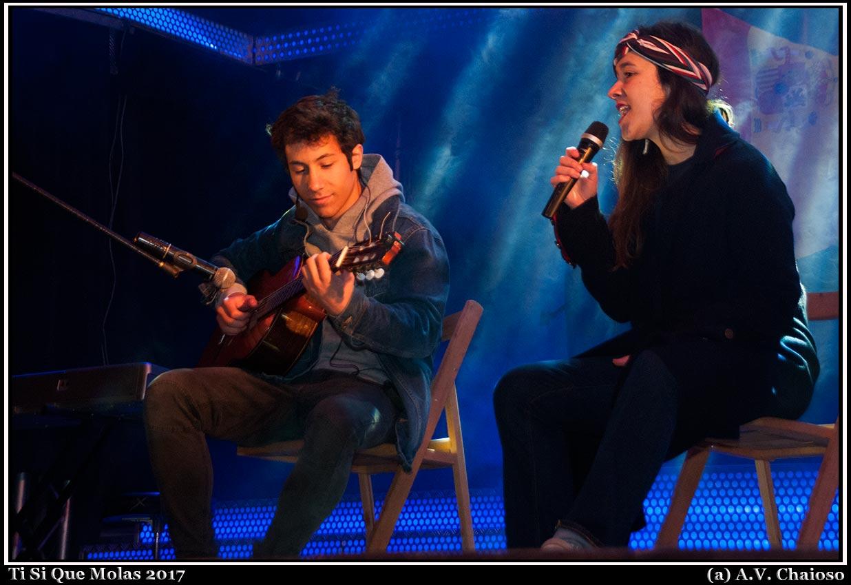 Sabela y Alejandro Rodriguez