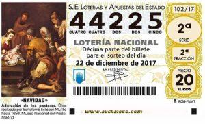 Loteria Chaioso 2017