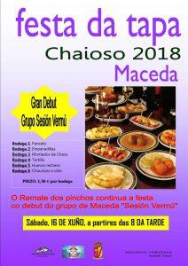 Festa da Tapa Chaioso 2018