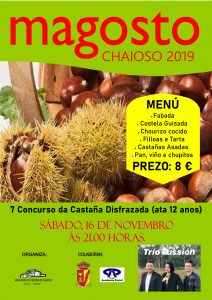 Cartel Magosto Chaioso 2019